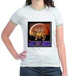 Lion of Judah 9 Jr. Ringer T-Shirt