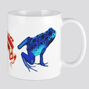 Three Dart Frogs Mug