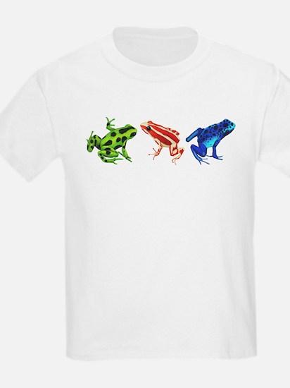 Three Dart Frogs T-Shirt