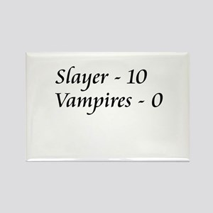 Slayer vs. Vampires Rectangle Magnet