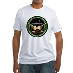 Your Hole is our Goal Fitted T-Shirt