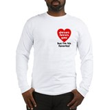 Jesus loves you but im his favorite Long Sleeve T-shirts