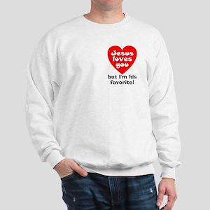 Jesus/His Favorite Sweatshirt