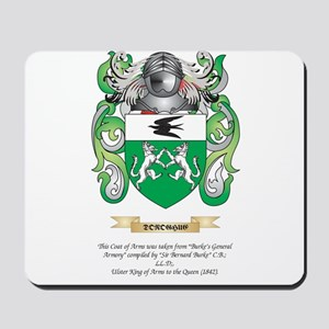 Donoghue Coat of Arms Mousepad