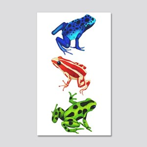 Dart Frogs Wall Decal Sticker
