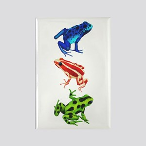 Dart Frogs Rectangle Magnet