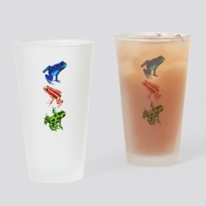 Dart Frogs Drinking Glass
