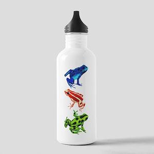 Dart Frogs Sports Water Bottle