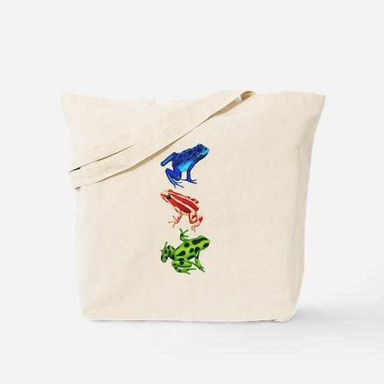 Dart Frogs Tote Bag
