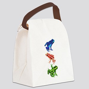 Dart Frogs Canvas Lunch Bag