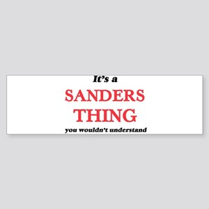 It's a Sanders thing, you would Bumper Sticker