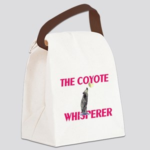 The Coyote Whisperer Canvas Lunch Bag