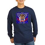 Lion of Judah 7 Long Sleeve Dark T-Shirt