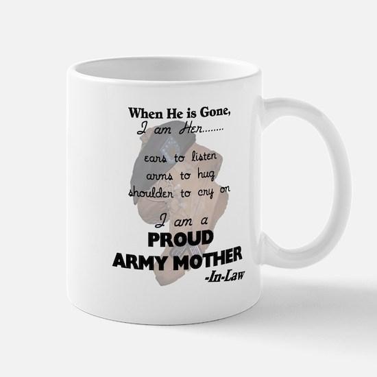 Proud Army Mom-In-Law  Mug