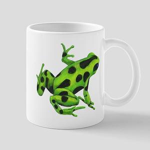 Green Dart Frog Mug