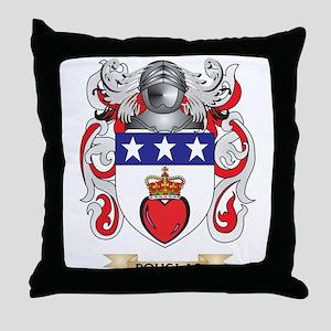 Douglas Coat of Arms Throw Pillow