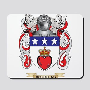 Douglas Coat of Arms Mousepad