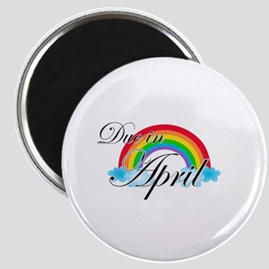 Due in April Rainbow Magnet