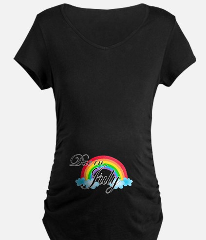 Due in July Rainbow T-Shirt