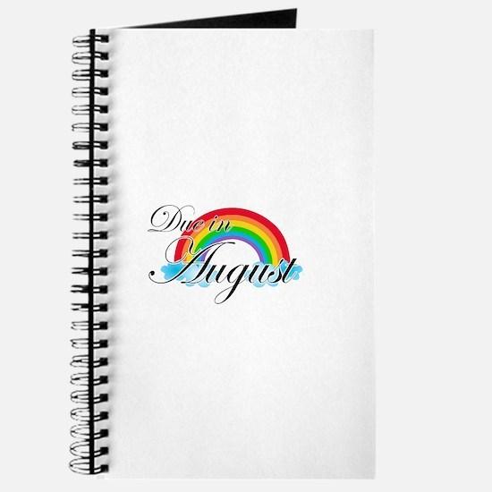 Due in August Rainbow Journal