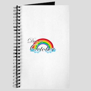 Due in October Rainbow Journal