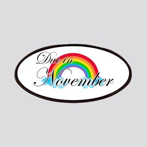 Due in November Rainbow Patches