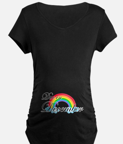 Due in December Rainbow T-Shirt