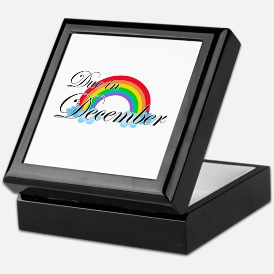 Due in December Rainbow Keepsake Box