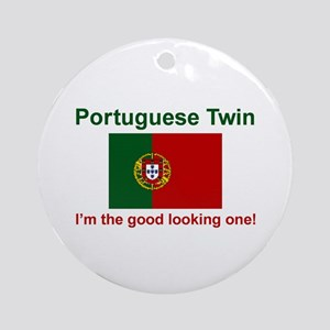 Good Looking Portuguese Twin Keepsake Ornament
