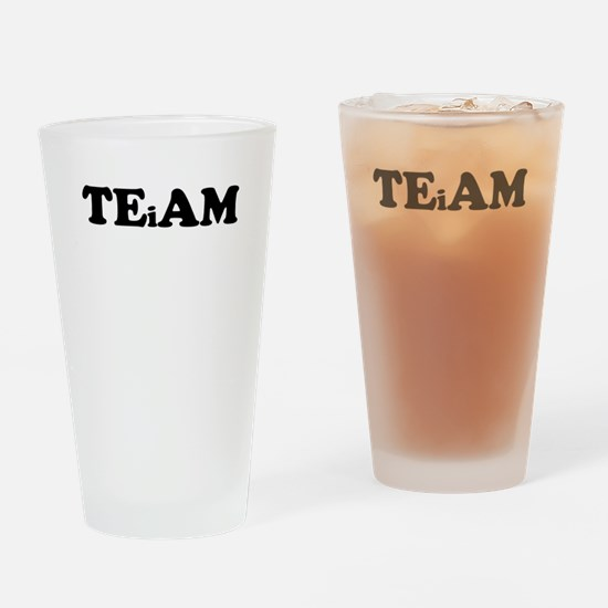 I In Team Drinking Glass