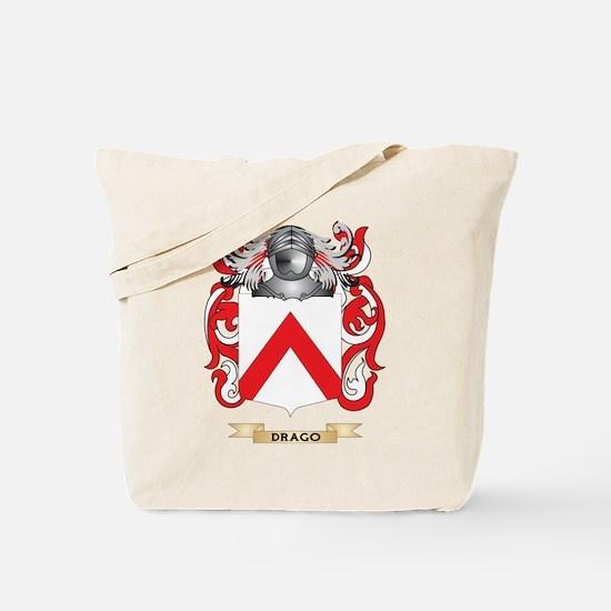 Drago Coat of Arms Tote Bag