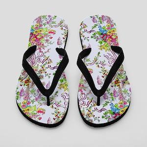 Marie Antoinette's Boudoir Flip Flops