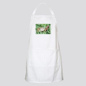 Humorous Box Turtle BBQ Apron