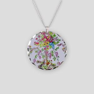 Marie Antoinette's Boudoir Necklace Circle Charm