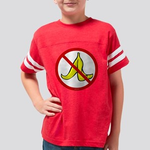no_banana_peels Youth Football Shirt
