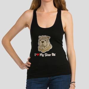 Love Shar Pei Racerback Tank Top