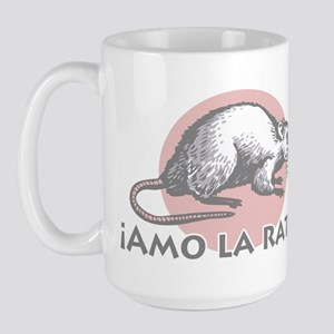Love the Rat Spanish Large Mug