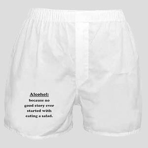 Alcohol Boxer Shorts