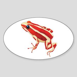 Red Dart Frog Sticker