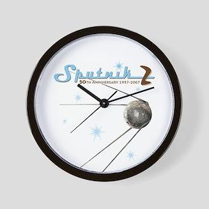 SPUTNIK 2 ATOMIC Wall Clock