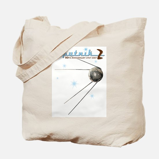 SPUTNIK 2 ATOMIC Tote Bag