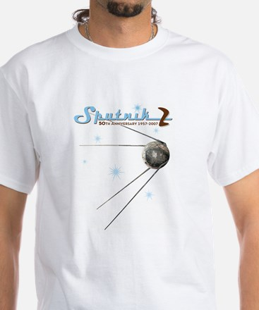 SPUTNIK 2 ATOMIC White T-Shirt