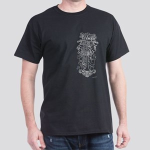 Scateboard Style Trumpet Dark T-Shirt