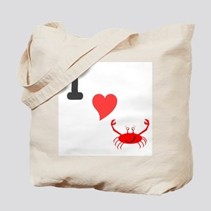 I (heart) crab Tote Bag