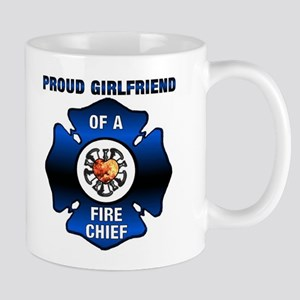 Fire Chief Proud Girlfriend Mug