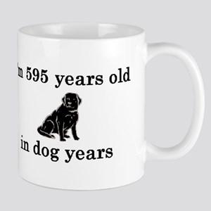 85 birthday dog years lab 2 Mug