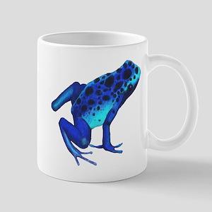 Blue Dart Frog Mug