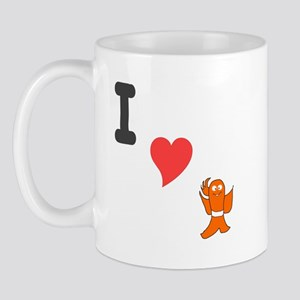 I (heart) fishy Mug