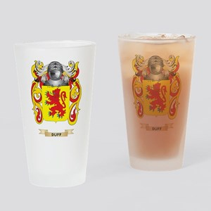 Duff Coat of Arms Drinking Glass