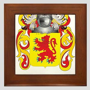 Duff Coat of Arms Framed Tile